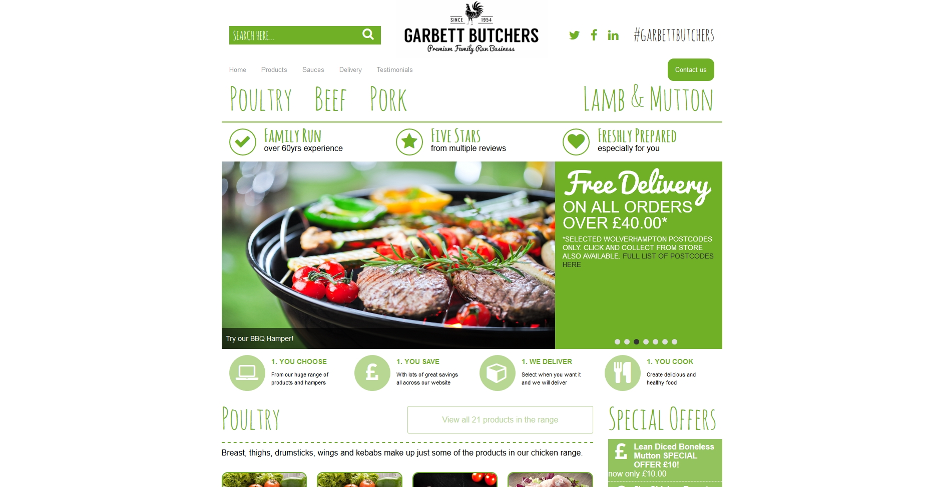 garbettbutchers.co.uk