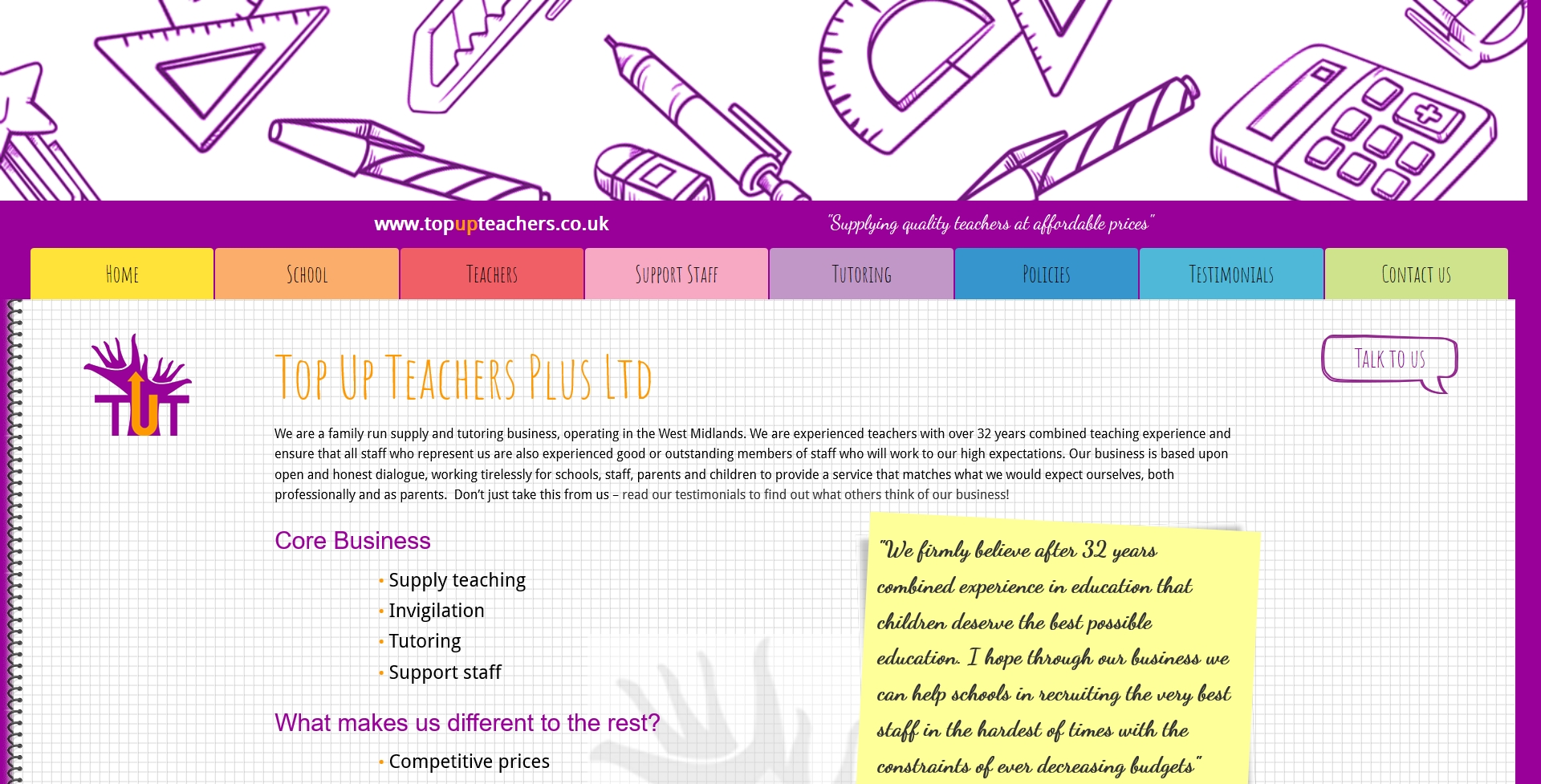 topupteachers.co.uk
